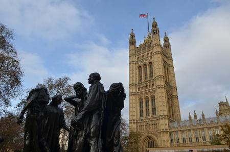 Cityscape of London, England
