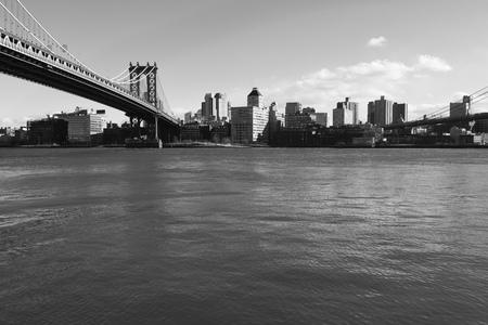 Manhattan Bridge, New York City, USA Stock Photo