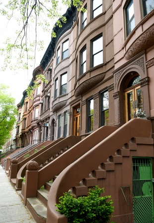 fifth avenue: Harlem street view, New York City, USA