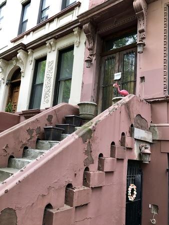 Harlem street view, New York City, USA