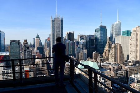 Manhattan view, NYC, USA