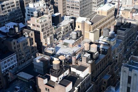 Manhattan view, NYC, USA. Stock Photo