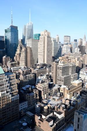New York City, NY, USA - June 14, 2017: Manhattan midtown view. Editorial