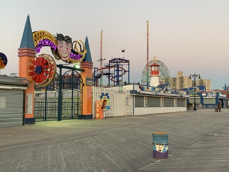Famous landmark in Coney Island, Brooklyn, NYC, USA Banque d'images - 119859968
