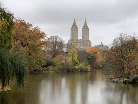 Central Park in the Autumn, NYC