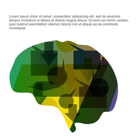 Brain Stock Vector - 21654813