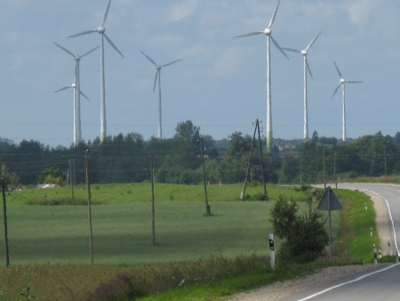 Wind Generators, Ecology Stock Photo