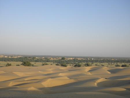 thar: Thar desert Stock Photo