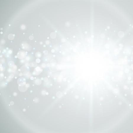 fondo blanco: Lens Flare luz eps vector de fondo 10
