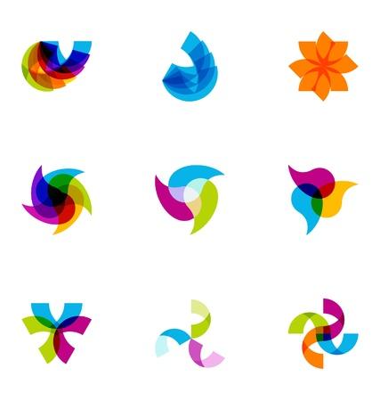 brand name: Logo design elements set 42