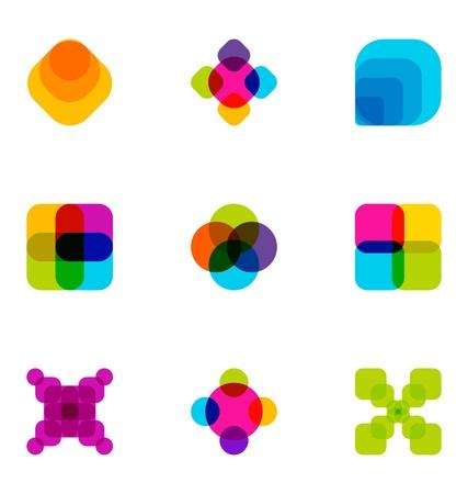 40: Logo design elements set 40