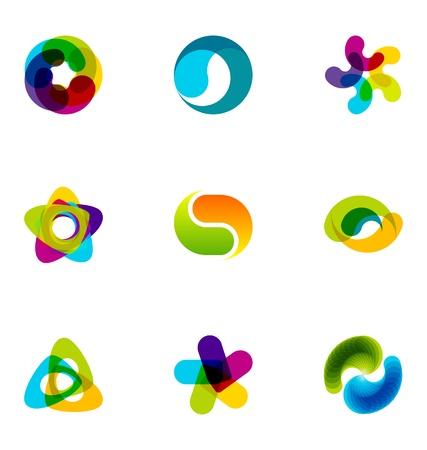 Logo design elements set 29 Stock Vector - 10042468