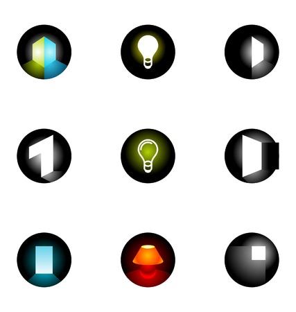 Logo design elements set 10 Stock Vector - 10042521