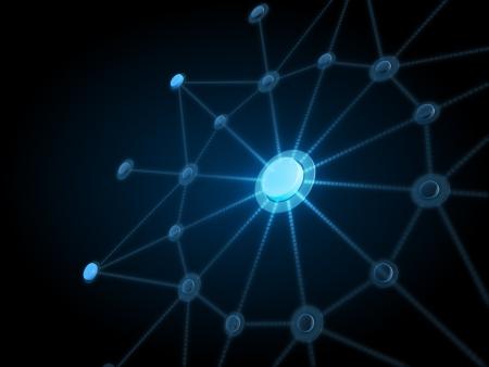 сеть: Фон подключения к сети