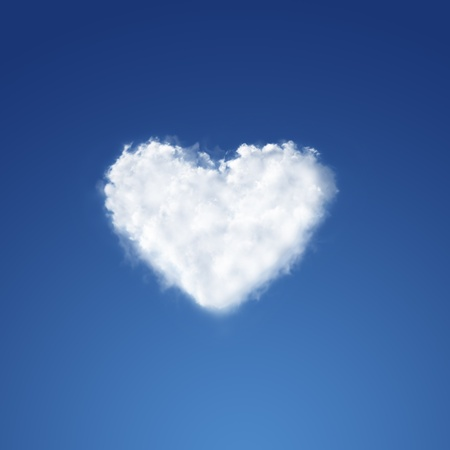 day dreams: Heart from clouds