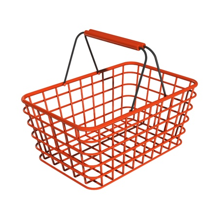 Shopping basket Stock Photo - 10098484