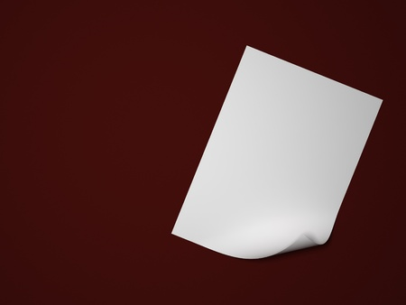 parer: Background with blank curl parer Stock Photo