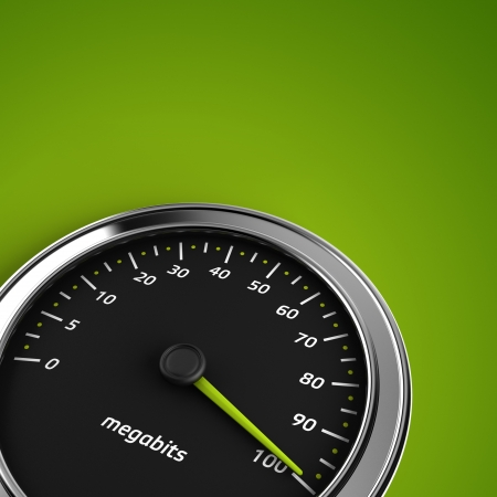 power meter: Download speedometer Stock Photo