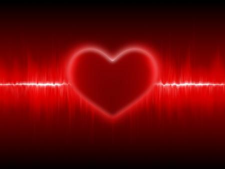 heart beats: Heart cardiogram