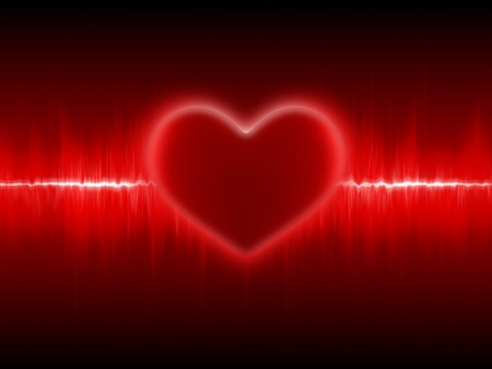 heart monitor: Heart cardiogram