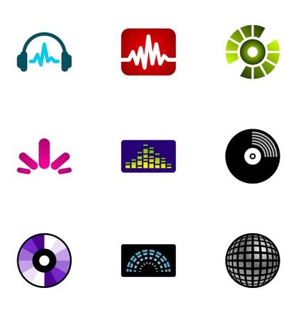 Éléments de conception de logo définir 73