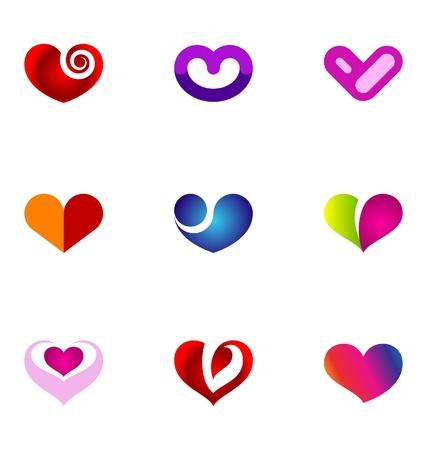 logotype: Logo design elements set 67