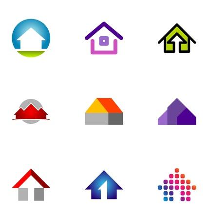 66: Logo design elements set 66 Illustration