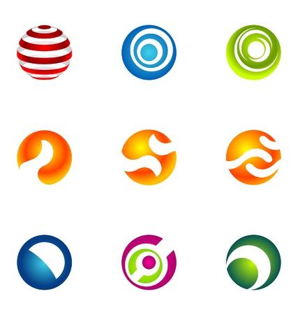 experte: Logo design elements set 52 Illustration