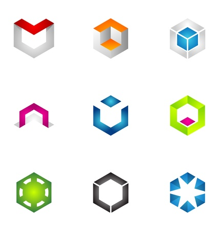 Logo design elements set 51 Stock Vector - 10130256