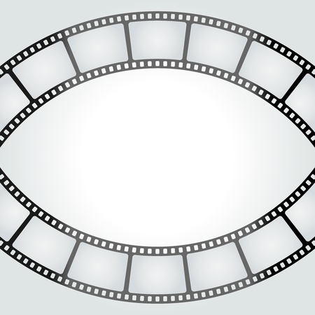Film tape vector background. Eps 10. Vector