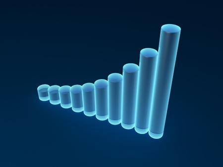 Transparent diagram Stock Photo - 10583983