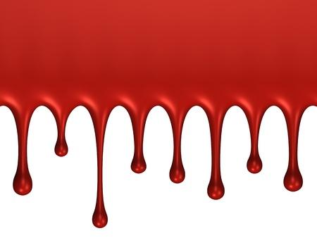 splodge: Glossy blood splash