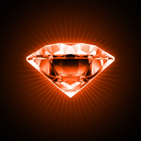 Red diamond Stock Photo - 10161981