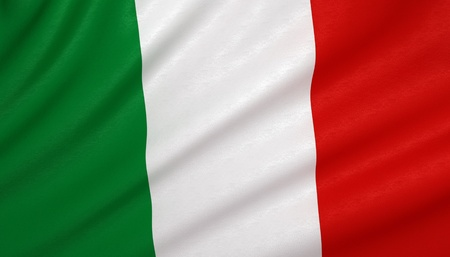 the italian flag: Bandiera d'Italia