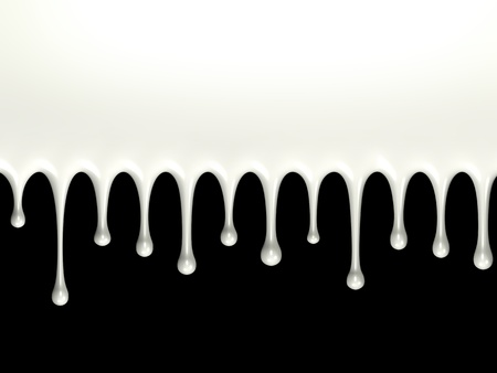 Glossy milk splash photo