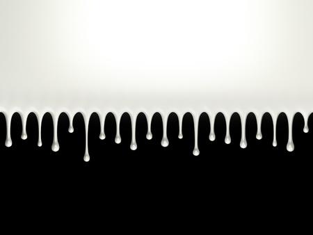 Glossy milk splash photo
