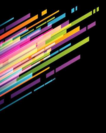 Abstract technology lines vector background Vector