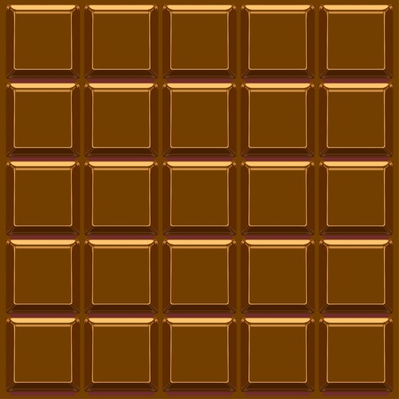 Chocolate bar vector background Vector