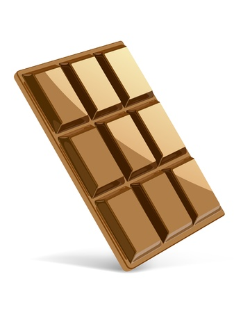 Chocolate bar in perspective Stock Vector - 10578342