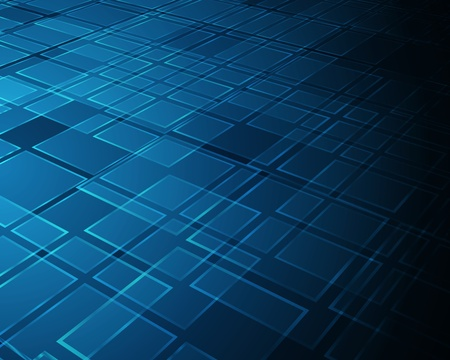 perspective grid: Abstract virtual tecnology vector background