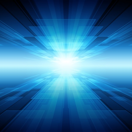 Fondo de vector de tecnología virtual