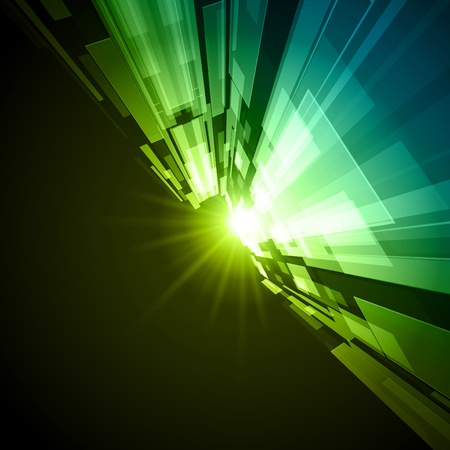 futuristico: Virtual tecnology sfondo vettoriale