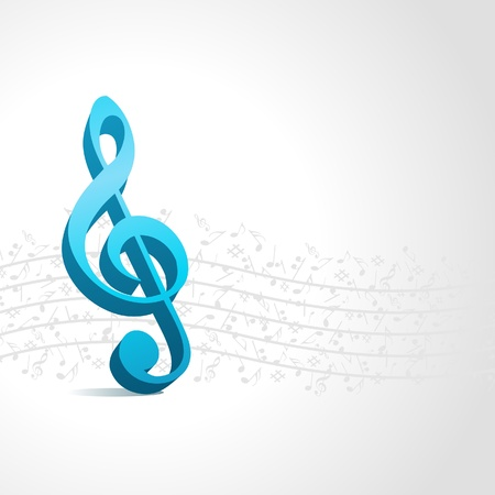blank note: Music vector background with notes