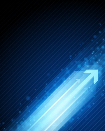 directive: 3g graph arrows move up in perspective vector background Illustration