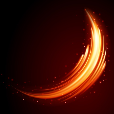 Burn flame fire vector background Illustration
