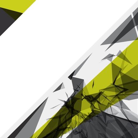 poligonos: Resumen l�neas geom�tricas en 3D fondo moderno vector grunge