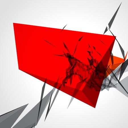 poligonos: Resumen 3d l�neas geom�tricas del grunge moderna de vectores de fondo