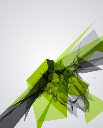 poligonos: Fondo de vectores abstractos para la 3d l�neas geom�tricas moderna grunge