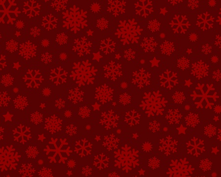 Seamless pattern with snowflakes Stock Vector - 10553710
