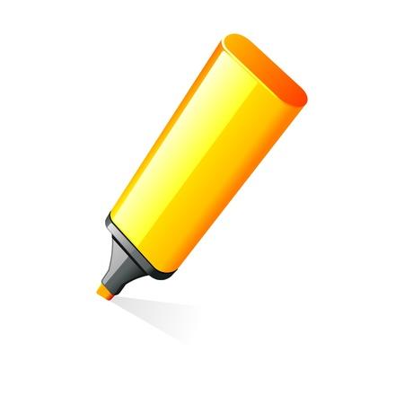 highlighter: Highlighter pen